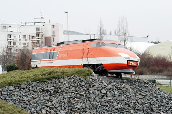 Le TGV 001, le premier prototype