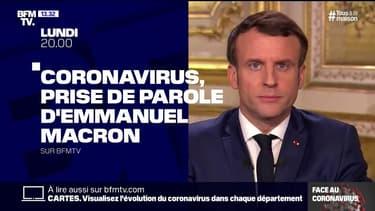 Coronavirus: Emmanuel Macron auprès des équipes de recherche à l'hôpital Bicêtre