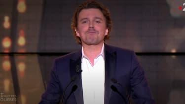 Alex Vizorek lors des Molières 2019