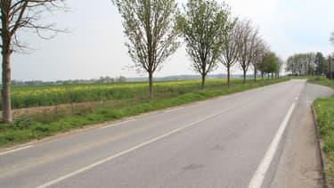 une route départementale