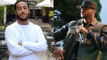 """Les rappeurs Lacrim et Booba ont dû interrompre le tournage de leur clip """"Oh bah oui"""", réalisé sans autorisation à Aulnay-sous-Bois."""