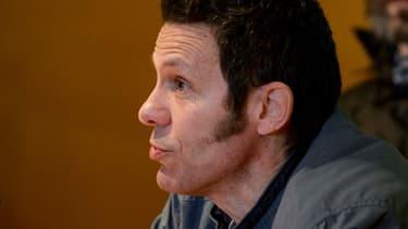L'ex-otage Javier Espinosa lors d'une conférence de presse à Madrid, le 30 mars 2014.