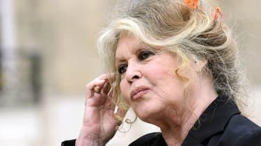 Brigitte Bardot, le 27 septembre 2007 à Paris.