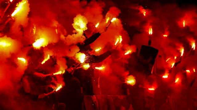 Les Bad Gones ont enflammé le Parc OL ce dimanche