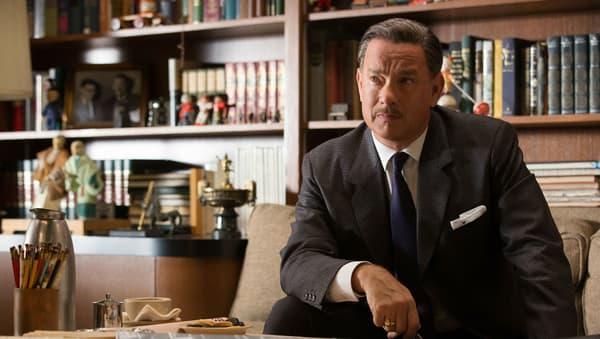 "Tom Hanks incarne Walt Disney dans ""Dans l'ombre de Mary"" (2014)"