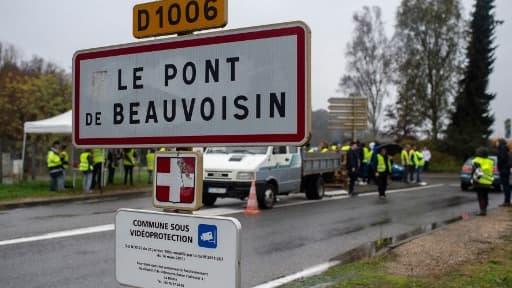 Le drame s'est déroulé à Pont-de-Beauvoisin en Isère