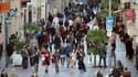 La consommation est repartie à la hausse le mois dernier en France.