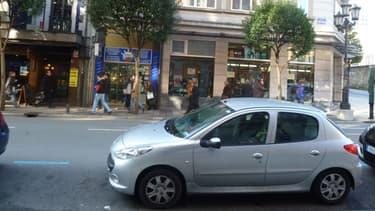 Une Peugeot 206