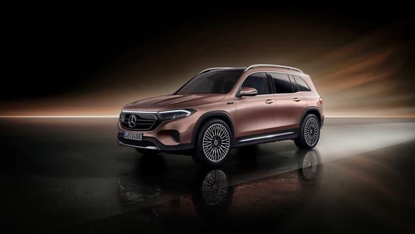 Le SUV électrique compact 7 places de Mercedes, l'EQB.