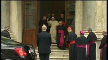 Le pape Benoît XVI a officiellement quitté ses fonctions le 28 février 2013.