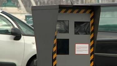 Un radar fixe dans la ville de Lyon.