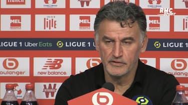 """Lille-OM : David double buteur, """"il a été recruté pour ça"""" rigole Galtier"""