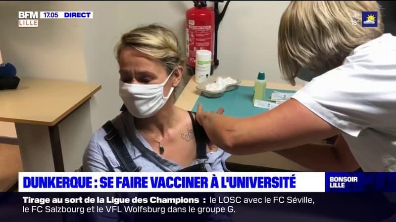 Dunkerque: des vaccins pour les étudiants à l'université