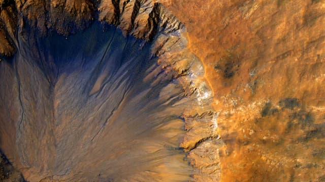 Vue de Mars. (Photo d'illustration)