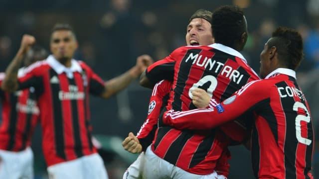 La joie de Muntari et des Milanais