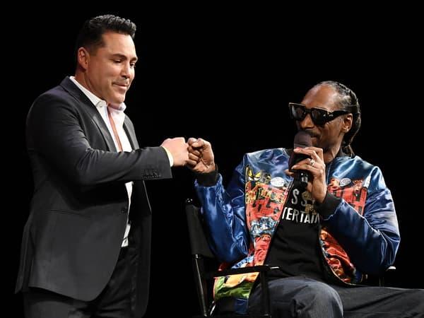 Oscar De La Hoya avec Snoop Dogg