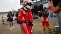 Sebastian Vettel après son abandon lors du GP d'Allemagne