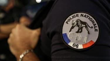 Un policier à Nice (illustration)