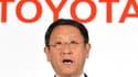 Akio Toyoda, le président de Toyota Motor Corporation.