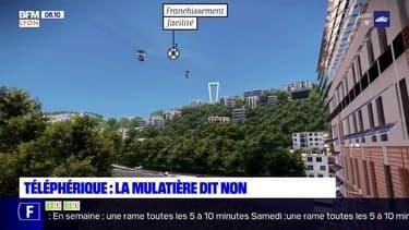 Lyon: la commune de la Mulatière dit non au projet de téléphérique
