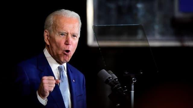 Joe Biden en mars 2020