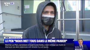 L'habitant d'Alençon qui a échangé avec Marine Le Pen réagit à l'intervention de la candidate RN