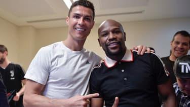 Ronaldo et Mayweather