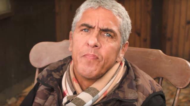 """Samy Naceri, dans le clip de sa chanson """"Une seconde chance""""."""