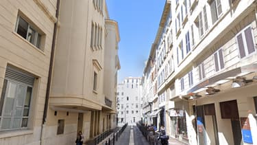 La rue Molière à Marseille - Image d'illustration