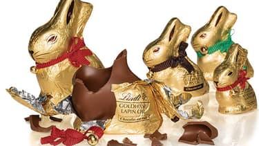 Le chocolatier connu pour ses petits lapins dorés a vu son chiffre d'affaires fléchir de  12,7% par rapport au premier semestre l'an passé