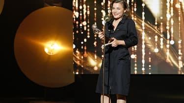 Blanche Gardin, le 28 mai 2018 sur la scène des Molières.