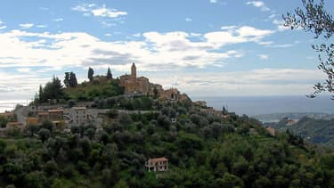 Le village de Castellar, dans les Alpes-Maritimes, théâtre du meurtre de Pierre Leschiera.