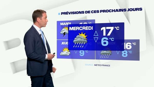Les prévisions météo du mercredi 19 mai à Lille.