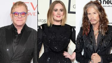 Elton John, Adele et Steven Tyler en guerre contre Donald Trump