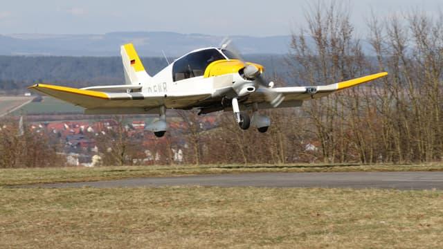 Avion de type DR400, le modèle d'appareil qui s'est écrasé mercredi à Colombiers.