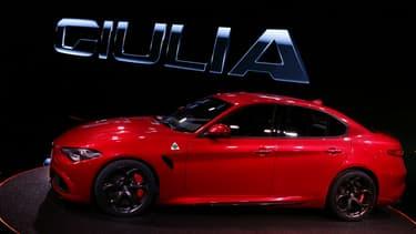 Les commandes la Giulia débuteront en Europe le 14 avril.