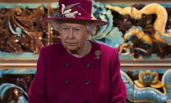 La reine Elizabeth II à Londres en novembre 2017
