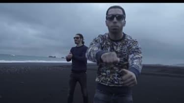 """Le rappeur Ademo, de PNL, dans le clip """"Oh Lala"""""""