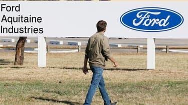 Un millier d'emplois sont menacés à l'usine Ford de Blanquefort, en Gironde.
