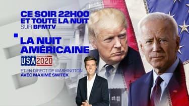 """""""La nuit américaine"""" sur BFMTV"""