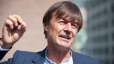 Le ministre de la Transition écologique et solidaire, Nicolas Hulot.
