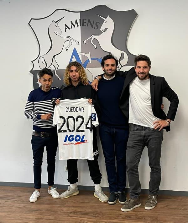 Adam Gueddar passe pro à Amiens