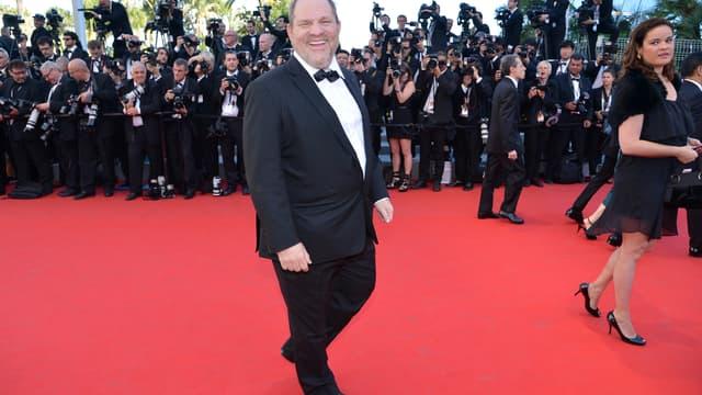 Harvey Weinstein à Cannes en 2012