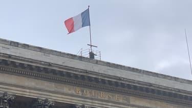 Le Palais Brongniart, site historique de la Bourse de Paris