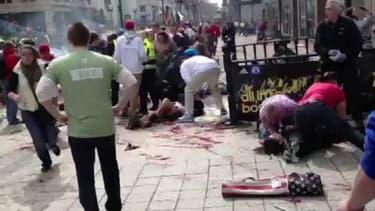 Boston: plus d'une centaine de blessés