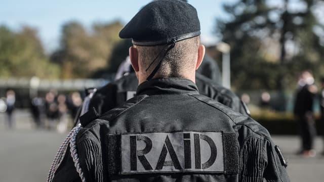 Un membre du RAID (illustration)