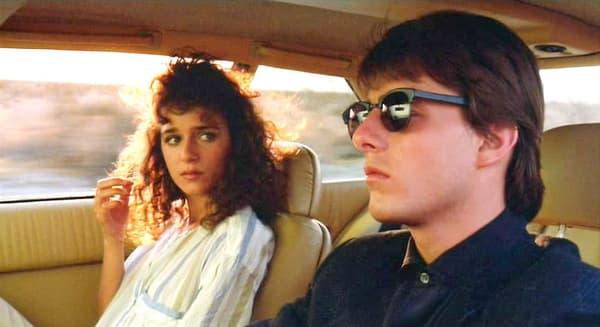 Valeria Golino et Tom Cruise dans Rain Man