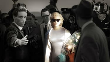 "Michelle Williams incarne Marilyn Monroe dans ""My Week with Marilyn"" (2012)."