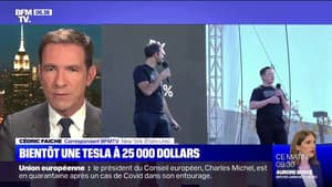 Elon Musk annonce la production d'une Tesla à 25.000 dollars, disponible dans au moins trois ans