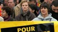 Journée d'action ce mardi à l'appel des principaux syndicats français. Ils profitent de la première « Journée Mondiale sur le travail décent » pour faire entendre leurs revendications (photo d'archive)
